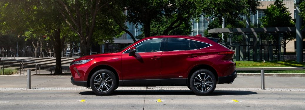2021 Toyota Venza from exterior driver's side