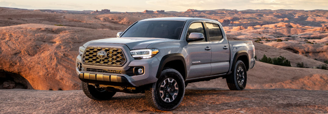 2020 Toyota Tacoma Lineup Available Now Right Here at Royal South Toyota in Bloomington IN