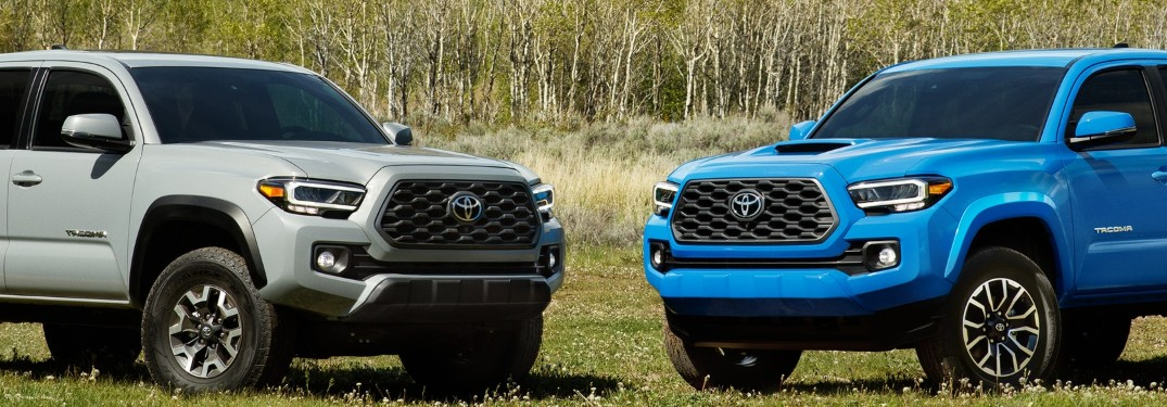 Which 2020 Toyota Tacoma Exterior Color Option Will You Choose at Royal South Toyota in Bloomington IN?