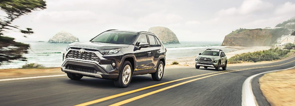 two 2020 Toyota RAV4 models