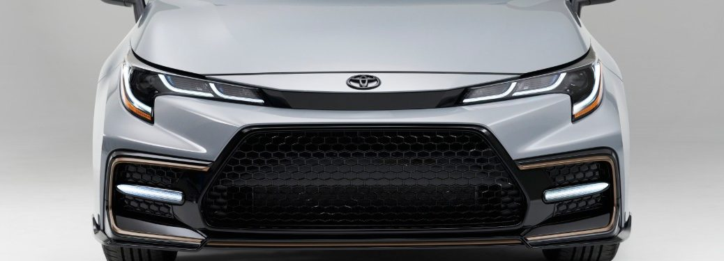 front end of a 2021 Toyota Corolla