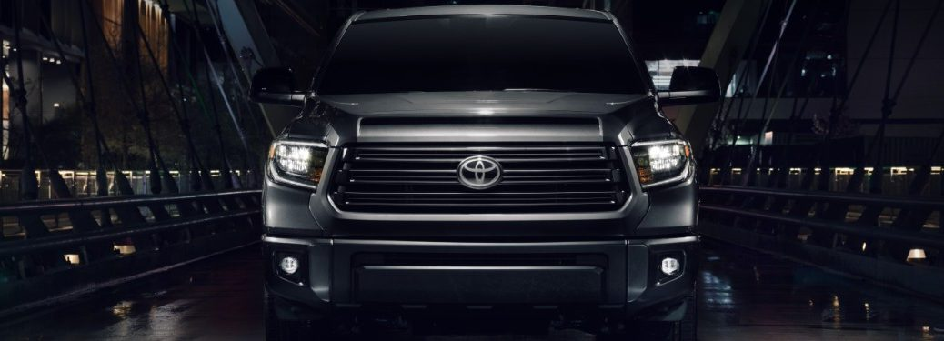 front end of a 2021 Toyota Tundra Nightshade Edition