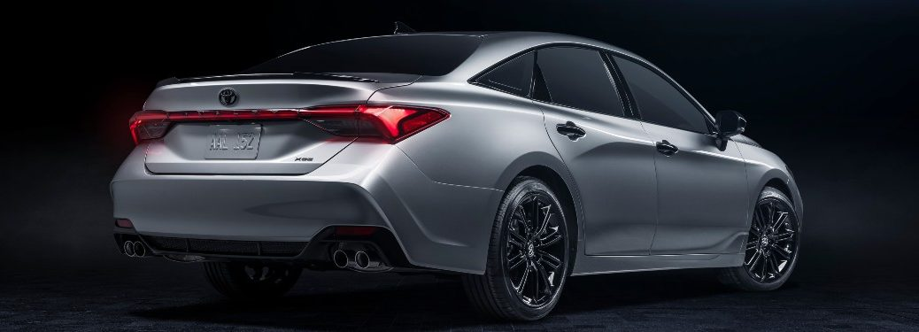 rear view of a 2021 Toyota Avalon