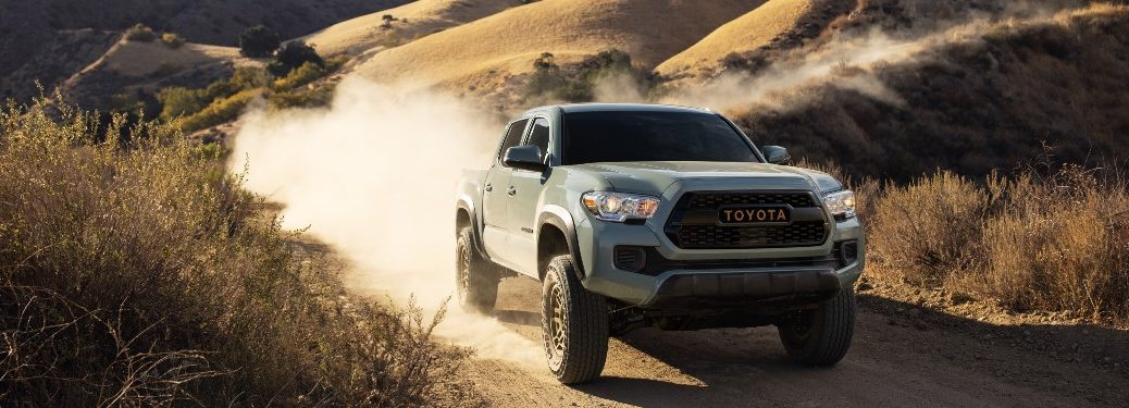 front view of a 2022 Toyota Tacoma Trail Special Edition