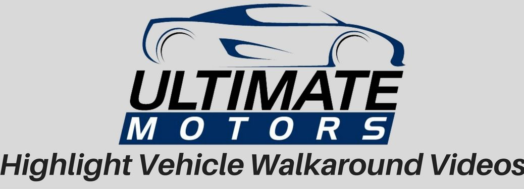 Ultimate Motors Logo with Highlight Vehicle Walkaround Video
