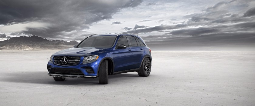 2017 Mercedes Benz GLC brilliant blue metallic