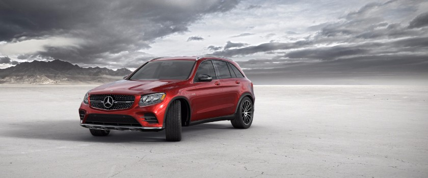 2017 Mercedes-Benz GLC designo cardinal red metallic