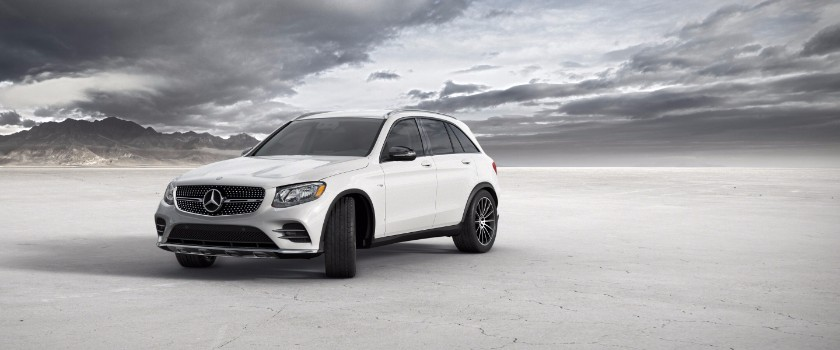 2017 Mercedes-Benz GLC designo diamond white metallic