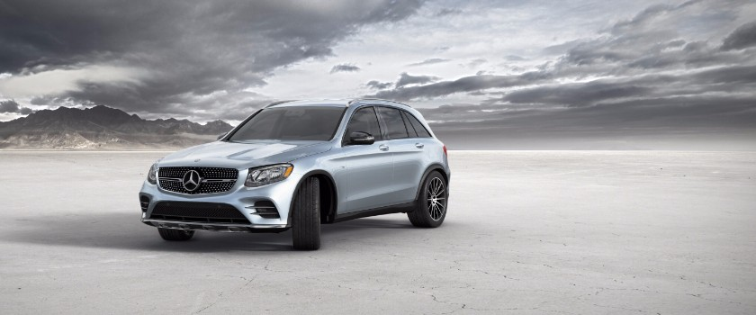 2017 Mercedes-Benz GLC diamond silver metallic