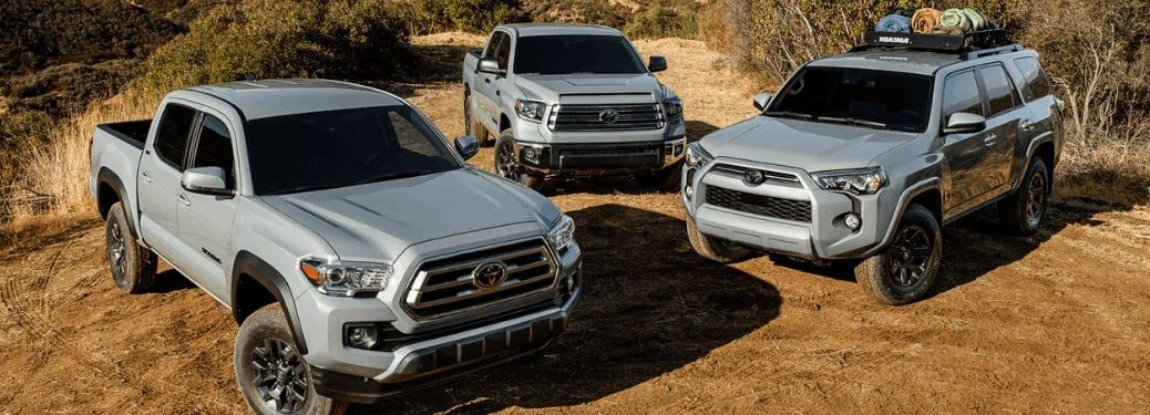New 2021 Toyota Trail Special Edition models