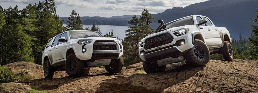 2020 Toyota TRD Tacoma and 4Runner