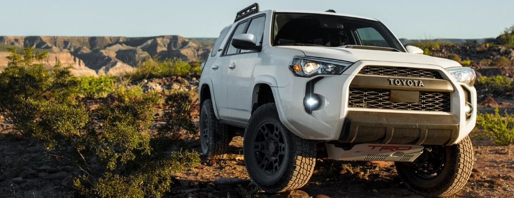 What S The Difference Between The Base 4runner And The 4runner Trd Pro San Francisco Toyota