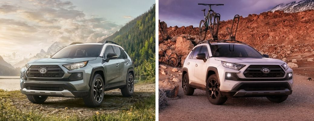 2020 Toyota RAV4 Adventure vs 2020 Toyota RAV4 TRD Off-Road