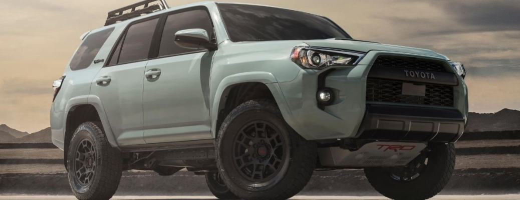 2021 Toyota 4Runner front end