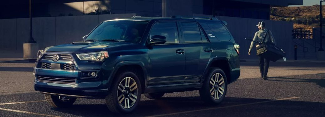 2022 Toyota 4Runner parked in a city street