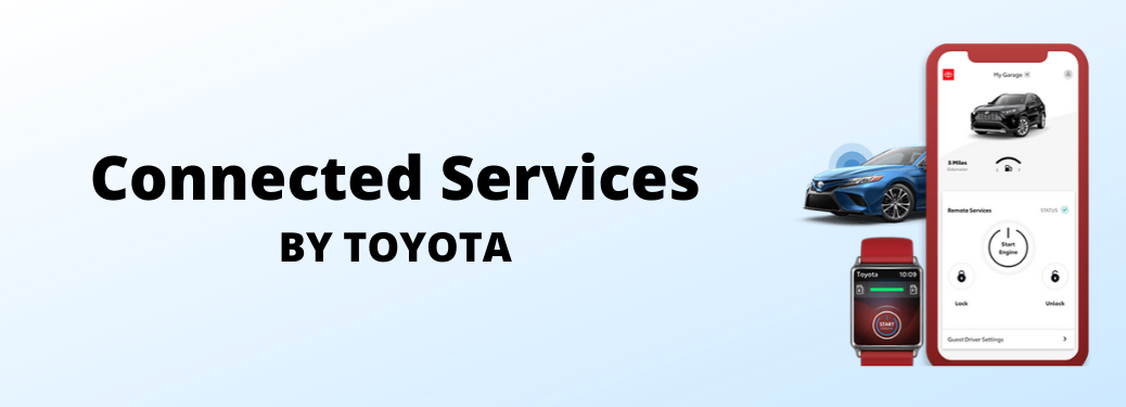 Connected Services by Toyota banner