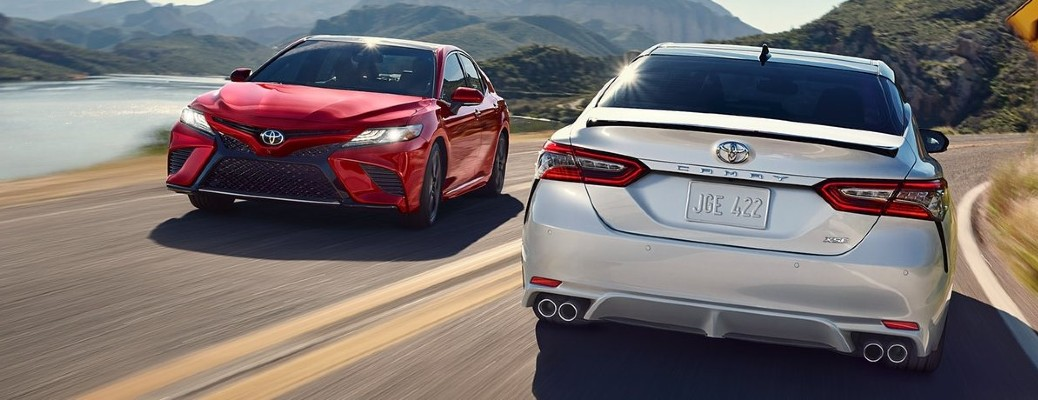 Photo Gallery: 2020 Toyota Camry exterior color options