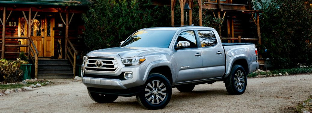 2020 Toyota Tacoma parked in a driveway