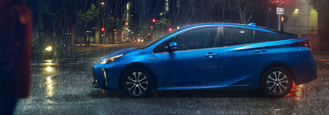 What technology features are available for the 2020 Toyota Prius?