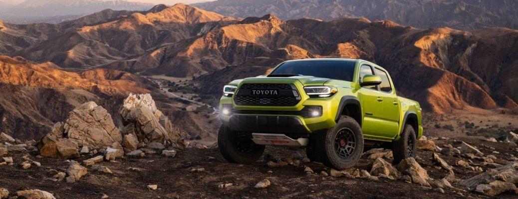 2022 Toyota Tacoma showing off-road performance