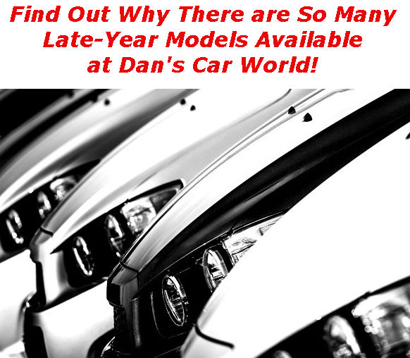 Link to Dan's Car World Late-Year Model blog