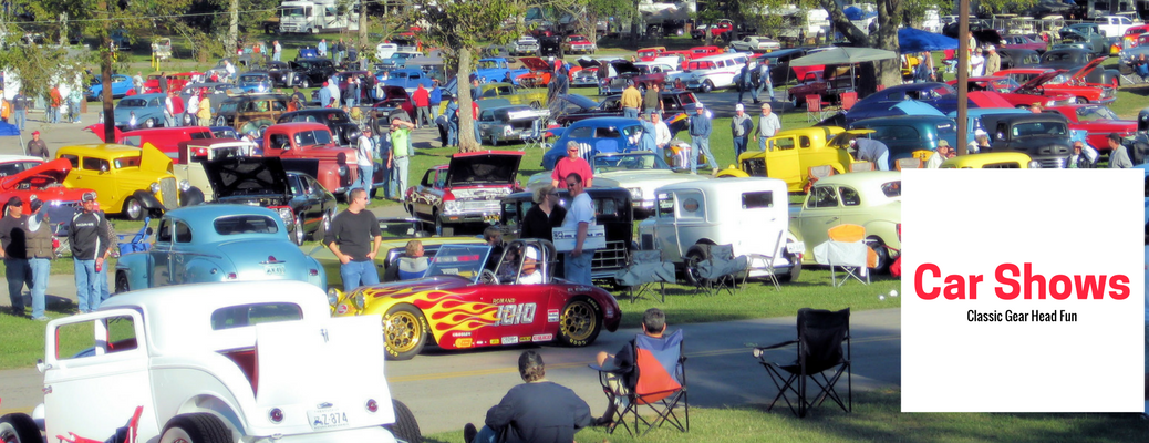 West Virginia Auto Events and Car Shows