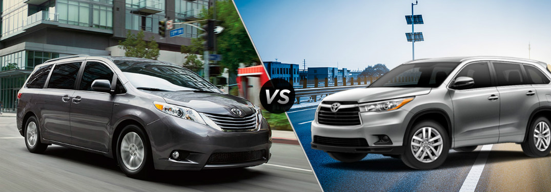 The differences between minivans and SUVs