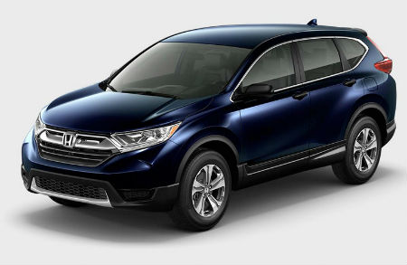 2017 Honda CR-V exterior front fascia and drivers side