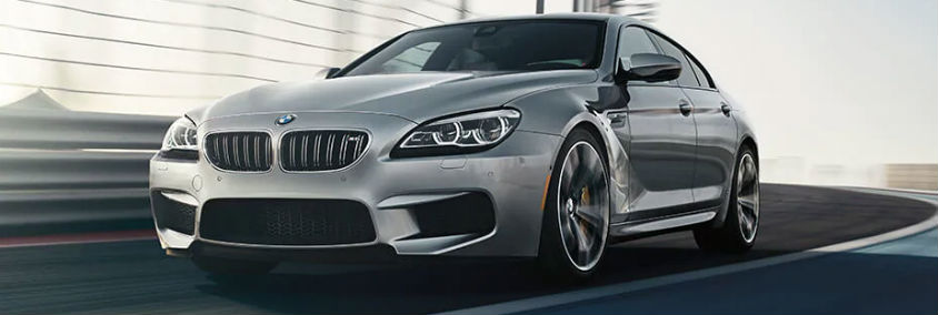 2018 BMW M6 Gran Coupe Exterior Driver Side Front Angle