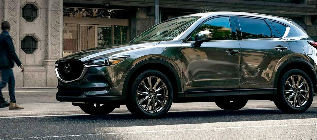 2019 mazda cx-5 in a city