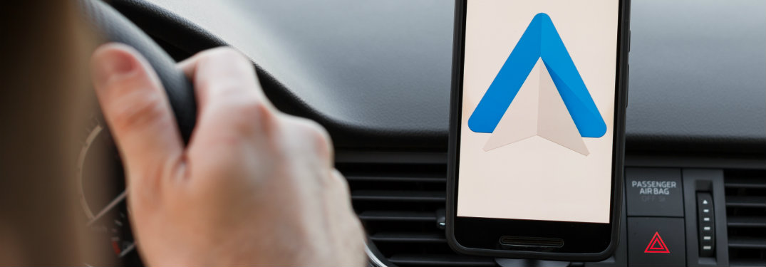 How do I connect to Android Auto in my Mazda?