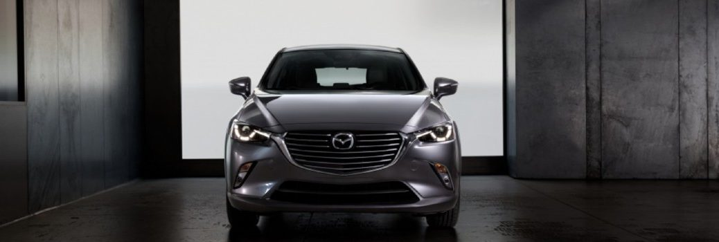 front view of the 2020 Mazda CX-3