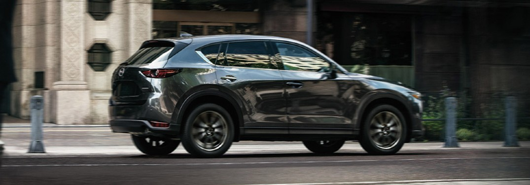 Exterior paint color options offered on the 2020 Mazda CX-5