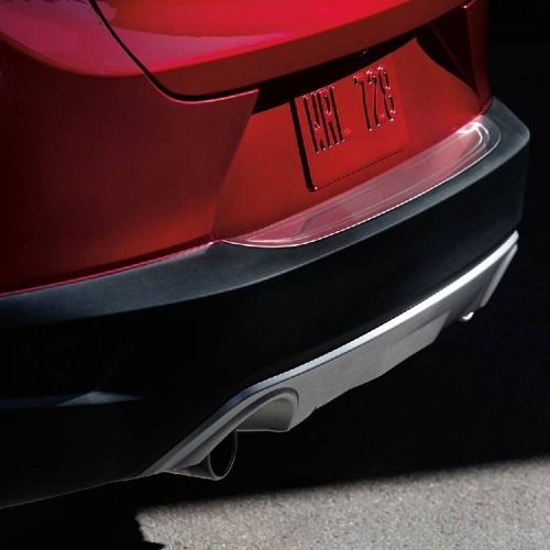 Mazda CX-3 rear bumper guard