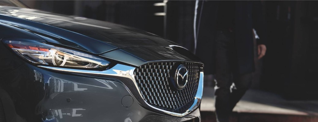 front end of the 2021 Mazda6