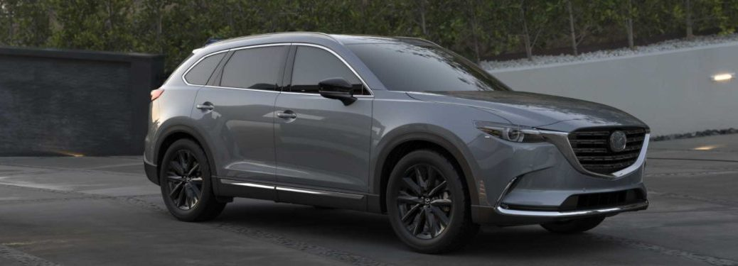 2021 Mazda CX-9 parked in a lot