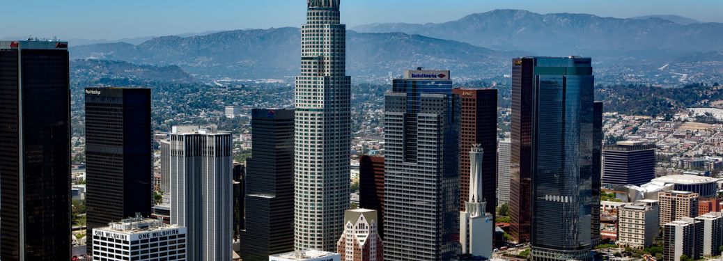 Los Angeles downtown area