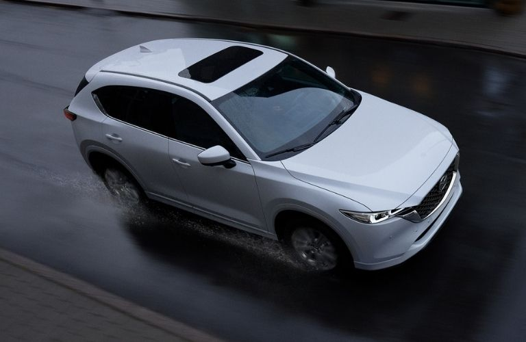 top view of the 2022 mazda cx-5