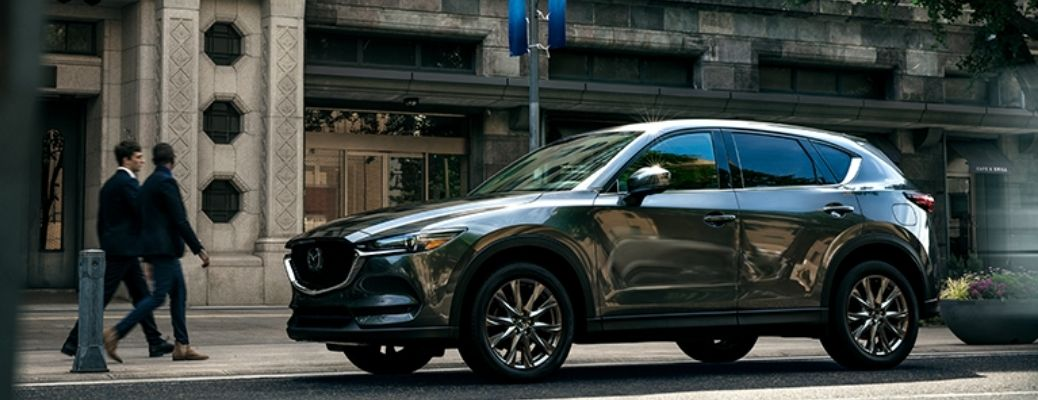 What Technology Features Come Standard With the 2021 Mazda CX-5?
