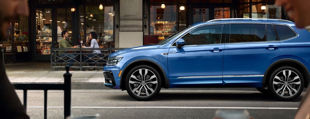 2020 Volkswagen Tiguan from the exterior driver's side