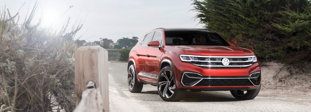 2020 Volkswagen Atlas Cross Sport on beach