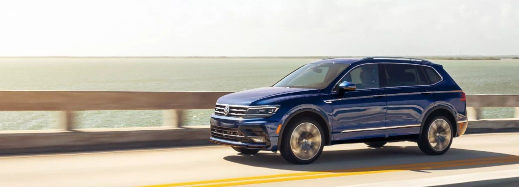 2021 VW Tiguan on road