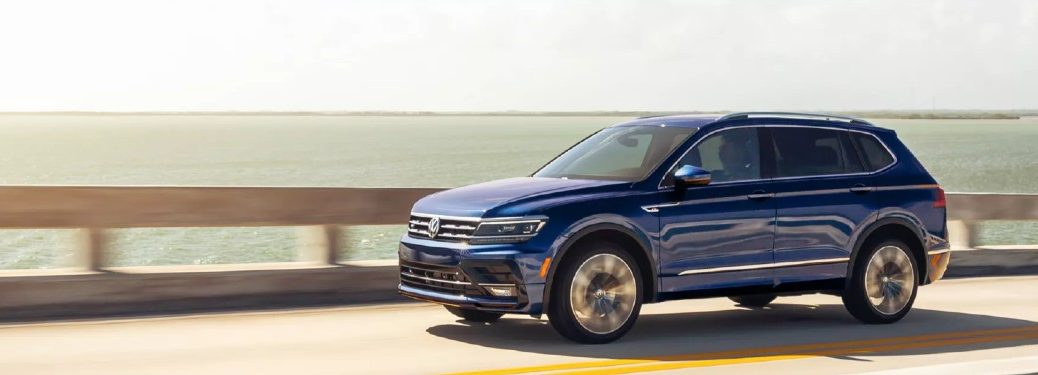 2021 Volkswagen Tiguan from driver's side