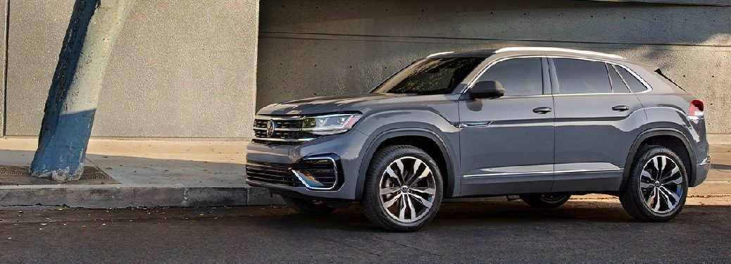 2021 VW Atlas from exterior driver's side