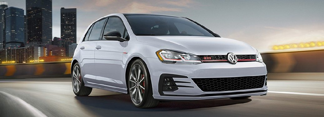 2021 VW Golf GTI from exterior front