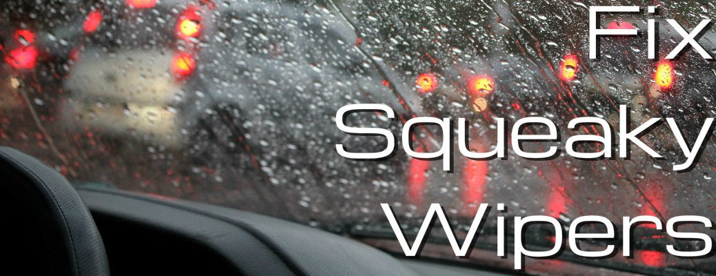 How to fix loud windshield wipers