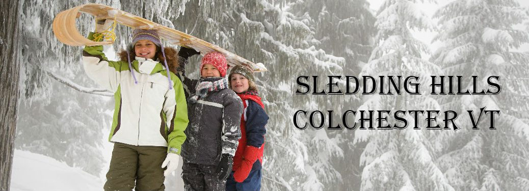 Kids with a sled