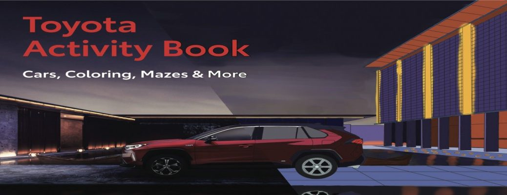 Cover for the Toyota Activity Book