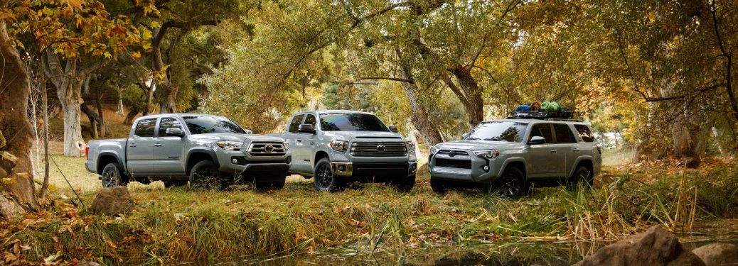 2021 Toyota Trail Edition family
