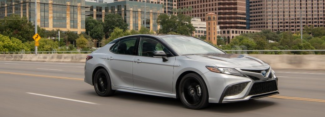 2021 Toyota Camry in city